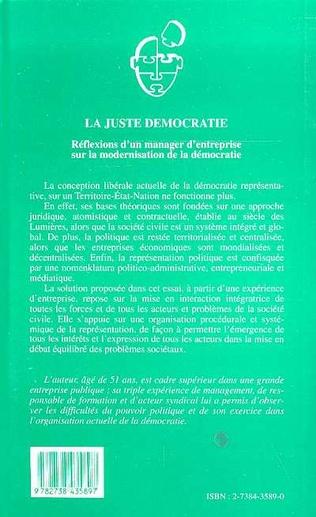 4eme La juste démocratie