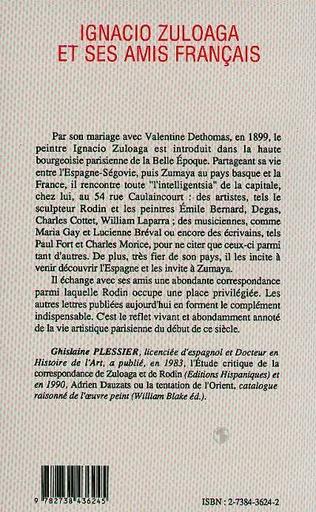 4eme Ignagio Zuloaga et ses amis français