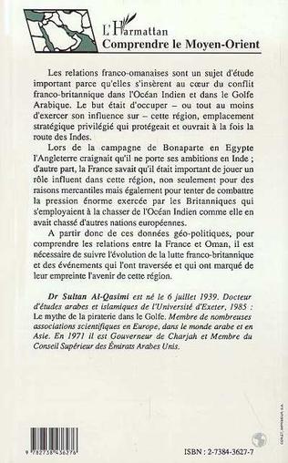 4eme Les relations entre Oman et la France (1715-1905)