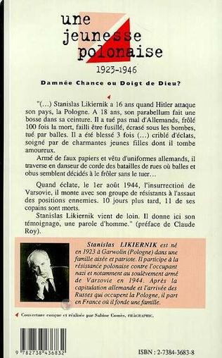 4eme Une jeunesse polonaise 1923-1946 Damnée chance ou doigt de Dieu?