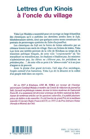 4eme Lettres d'un Kinois à l'oncle du village