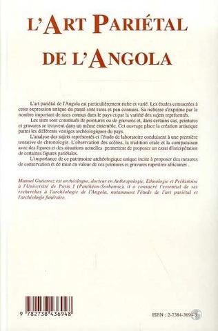 4eme L'art pariétal de l'Angola