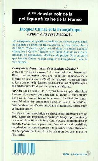 4eme Jacques Chirac et la Françafrique