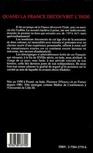 4eme Quand la France découvrit l'Inde
