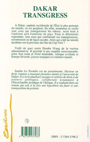 4eme Dakar transgress