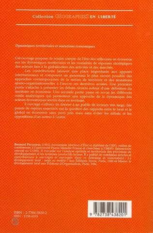 4eme Dynamiques territoriales et mutations économiques
