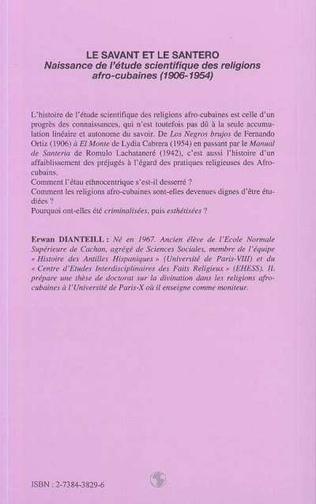 4eme Le savant et le Santero