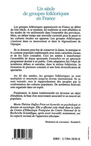 4eme Un siècle de groupes folkloriques en France
