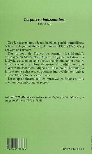 4eme La guerre buissonnière 1936-1946