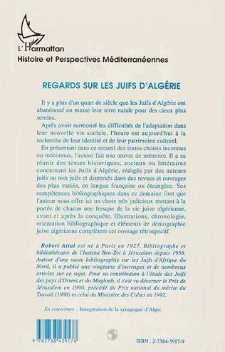 4eme Regards sur les Juifs d'Algérie