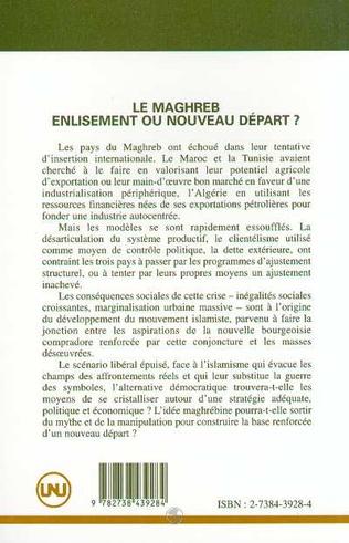 4eme Le Maghreb : enlisement ou nouveau départ ?