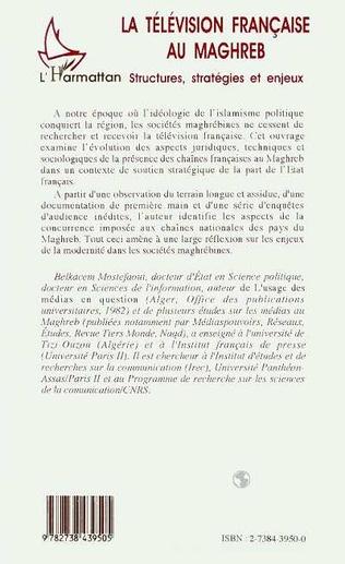 4eme La télévision française au Maghreb