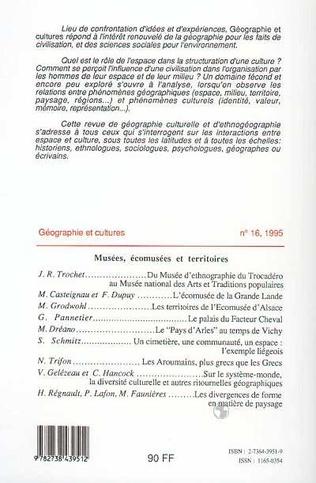 4eme Géographie et cultures n°16