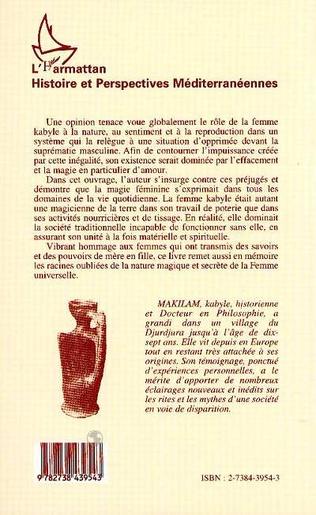 4eme La magie des femmes kabyles et l'unité de la société traditionnelle