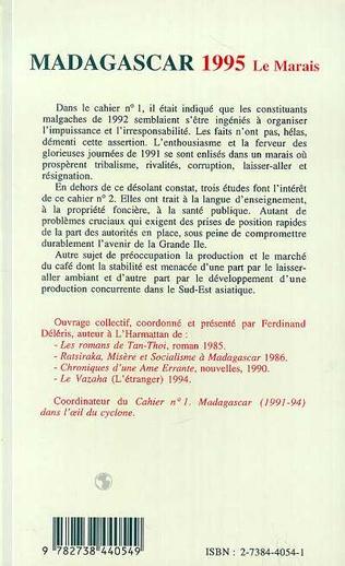 4eme Madagascar 1995