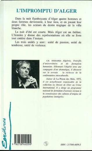 4eme L'impromptu d'Alger