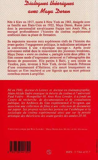 4eme Dialogues théoriques avec Maya Deren