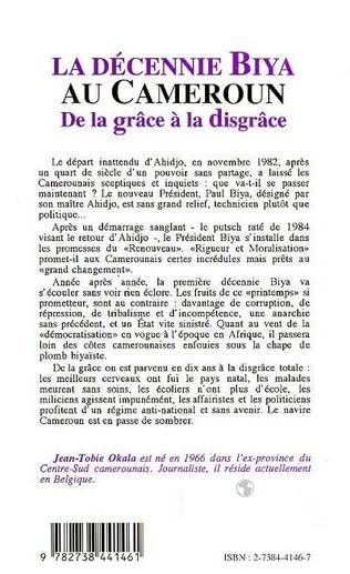 4eme La décennie Biya au Cameroun