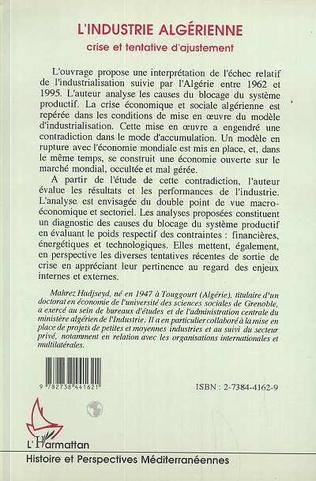 4eme L'industrie algérienne