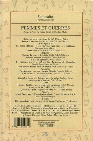 4eme Femmes et guerres