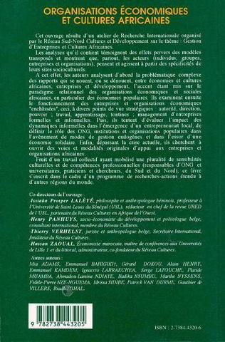 4eme Informel et développement contribution à un débat