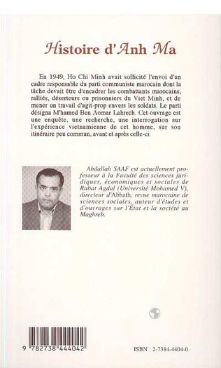 4eme Histoire d'Anh Ma