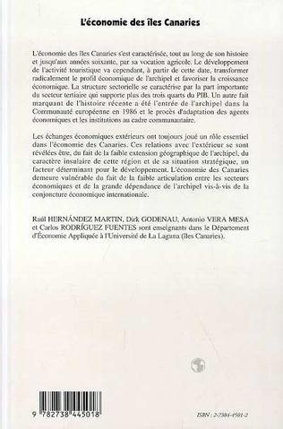 4eme L'économie des îles Canaries