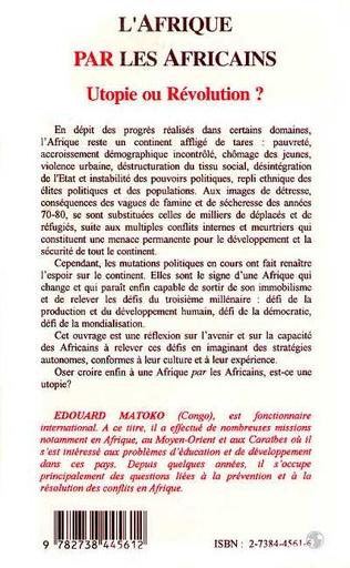 4eme Afrique par les Africains