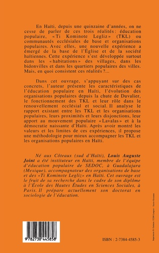 4eme Education populaire en Haïti