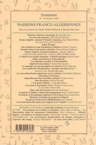 4eme Passions Franco-Algériennes