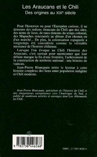 4eme Les Araucans et le Chili
