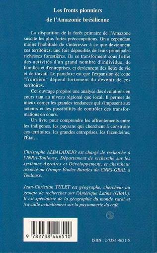 4eme Les fronts pionniers de l'Amazonie brésilienne