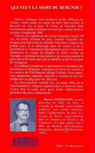 4eme Qui veut la mort du Burundi?