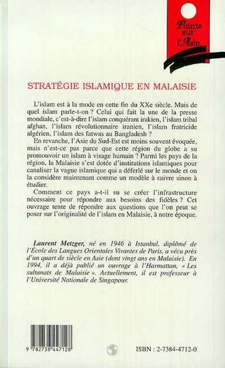 4eme Stratégie islamique en Malaisie (1975-1995)