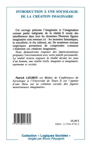 4eme Introduction à une sociologie de la création imaginaire