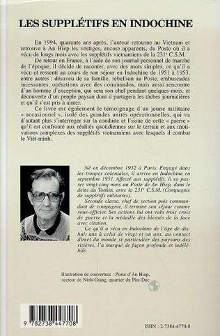 4eme Les supplétifs en Indochine 1951-1953