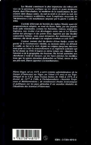 4eme La transhumance des Arabes Missirié et les batailles intertr