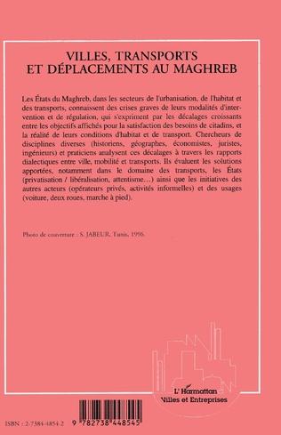 4eme Ville, transports et déplacements au Maghreb