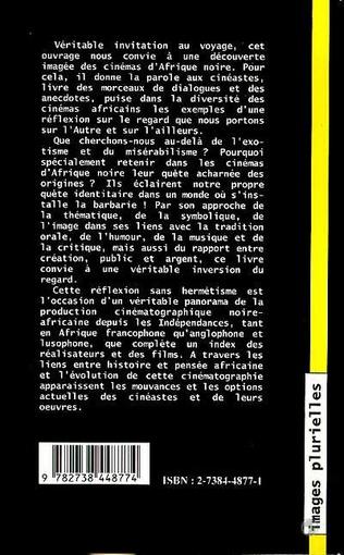 4eme Les cinémas d'Afrique Noire