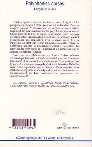 4eme POLYPHONIES CORSES
