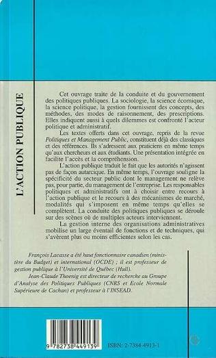 4eme L'ACTION PUBLIQUE