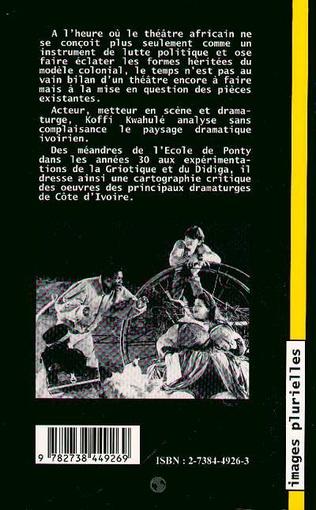 4eme Pour une critique du théâtre ivoirien contemporain