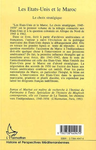 4eme Les Etats-Unis et le Maroc