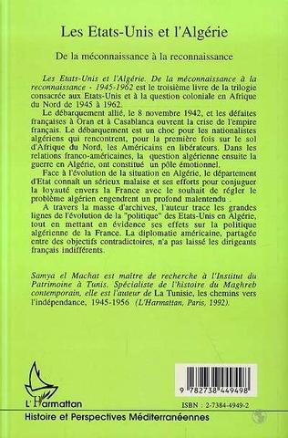 4eme Les Etats-Unis et l'Algérie