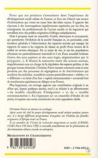 4eme Familles africaines en France
