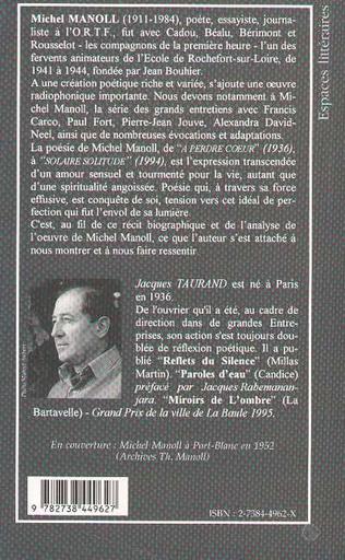 4eme Michel Manoll ou l'envol de la lumière