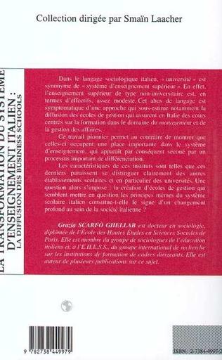 4eme Transformation du système d'enseignement italien: la diffusion des business schools