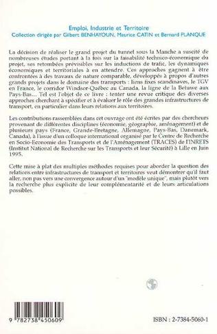 4eme INFRASTRUCTURES DE TRANSPORT ET TERRITOIRES