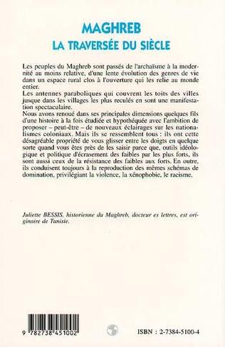4eme Maghreb la traversée du siècle