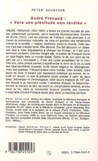4eme André Frenaud: